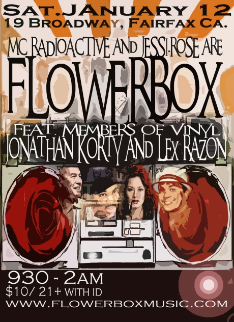 Flowerbox live @ 19 Broadway in Fairfax California